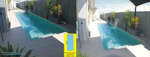 Murrumba Downs Backyard Pool & Water Feature