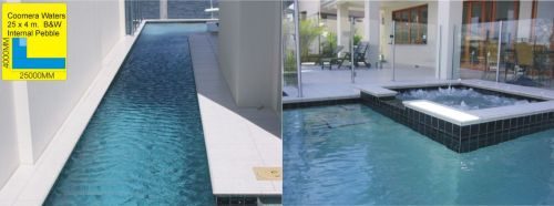 Coomera Waters Wrap Around Pool & Raised Spa Build