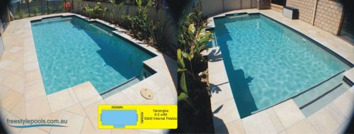 Narangba Internal Pebble Outdoor Pool