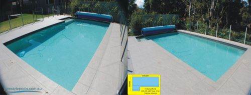 Holland Park Outdoor Pool And Retractable Pool Cover