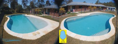 Narangba Free Form Family Pool With Multiple Shallow Lounge Areas