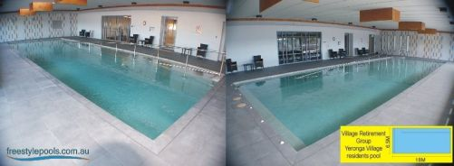 Retirement Home Indoor Community Pool, Yeronga Village Retirement Complex