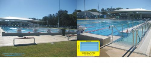 Palm Beach FINA Olympic Pool 50x25 Meters