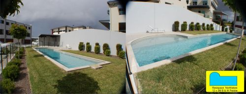Resispace Apartments Complex Outdoor Pool Design, Northlakes