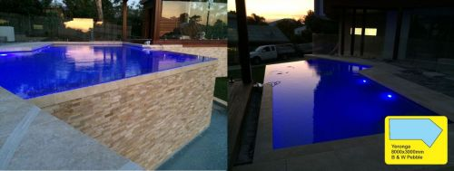 Riverview Terrace Raised Pool Design