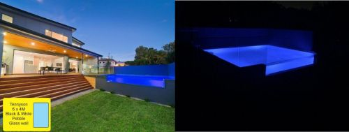 Tennyson Glass Walled Pool With Lighting