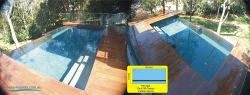 Yeronga Galaxy Pool Built In Deck