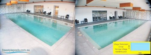 Indoor Retirement Residents Pool, Yeronga Village Retirement Centre