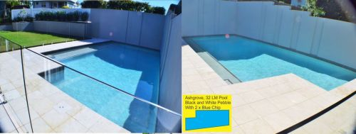 Ashgrove Family Pool With Glass Wall Barrier