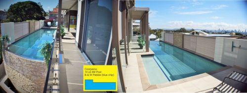 Coorparoo City View Pool Design