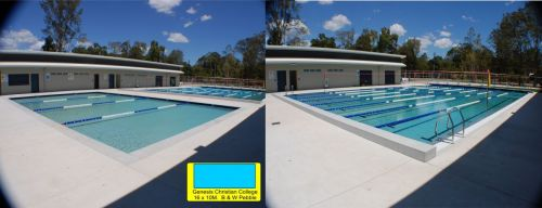 Genesis Christian College Outdoor Training Pool