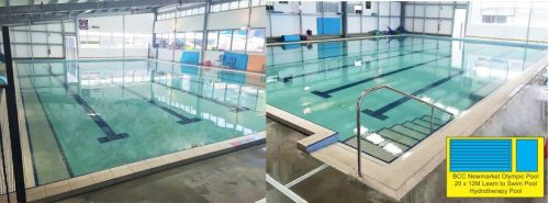 BCC Newmarket Olympic Centre LTS Pool & Indoor Hydrotherapy Pool