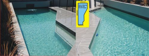 Mango Hill Double Angled Pool Design