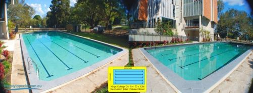KIngs College University of Queensland Outdoor Residents Pool