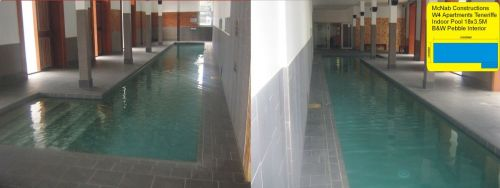 Indoor Apartment Complex Lap Pool,  The Valley