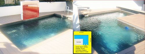 Coomera Waters Pool Deck & L Shaped Pool Construction