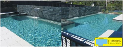 Cashmere 10x5 Meter Family Home Pool & Spa Plus Water Feature